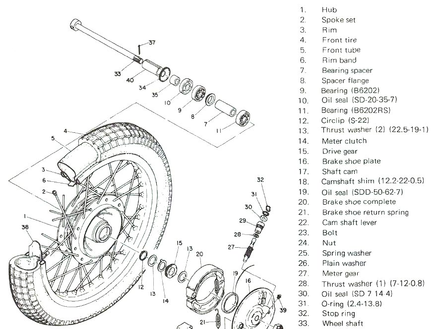 Yamaha Wiring Schematics  U0026 Carburetor Diagrams
