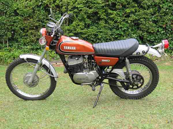 yamaha wiring schematics & carburetor diagrams 97 yamaha xt enduro wiring diagram 1974 yamaha 360 enduro wiring diagram #1